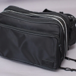 DEGNER SHOULDER BRIEFCASE Black (NB-16 BK)