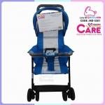 รถเข็นเด็กแบรนด์ modern care รุ่น MINI HALF CANOPY สีฟ้า