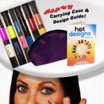 ปากกาทาสีเล็บ hot designs