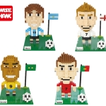 Lego Nano Block ชุด นักฟุตบอลทีมชาติ