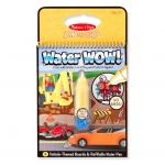 สมุดกระดานน้ำ ระบายสีรูปรถ Melissa & Doug Water Wow Activity Book - Vehicles