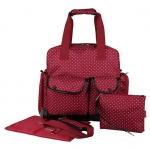 Ecosusi กระเป๋าเป้คุณแม่ 3 Way แฟชั่นลายสวย หิ้ว-พาดลำตัว-สะพายหลังได้ ใบใหญ่ ทนทาน ช่องใส่ของเยอะ