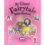 My Giant Fairytale Sticker Storybook หนังสือกิจกรรม เกม พร้อมสติกเกอร์ สำหรับเด็กหญิง