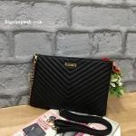 กระเป๋า Aldo clutch bag สีดำ ราคา 990 บาท Free Ems