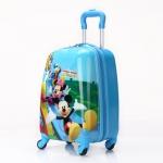 กระเป๋าเดินทางล้อลาก Mickey Mouse Club House สีฟ้า < พร้อมส่ง >