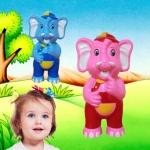 น้องรักดี ช้างพูดได้ ร้องเพลง เล่านิทาน อัดเสียงพูดตาม