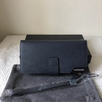 Teemzone UK genuine leather clutch long wallet