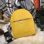 กระเป๋าสะพายเป้ ZARA Sturby Backpack With Zips 2017 สไตล์ PRADA สีเหลือง