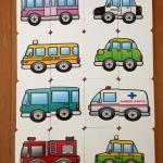 จิ๊กซอว์ 2 ชิ้น ชุดรูปรถ (ก่อนวัยเรียน 2 ขวบขึ้นไป)