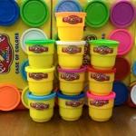 แป้งโดว์ เซต 10 กระปุกใหญ่ Colour Dough Party Pack 10 Can