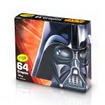 สีเทียน Crayola Star Wars, Darth Vader 64 แท่ง ปลอดสารพิษ เหมาะกับน้อง 3 ขวบขึ้นไป