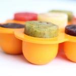 ชุดถาดซิลิโคนฟรีซเก็บอาหารเด็กอ่อน มีฝาปิด NanaBaby Food Storage Silicone Container
