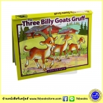 The Three Billy Goats Gruff : Pop Up Story นิทานป๊อปอัพ แพะสามตัว หนังสือเด็กภาษาอังกฤษ