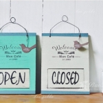 ป้ายแขวนหน้าร้าน เปิด- ปิด