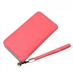 กระเป๋าสตางค์ใบยาว KQeenstar L สีแดงแตงโม