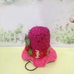 หมวกปีกปีใหม่ L ชมพู