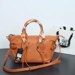 กระเป๋า KEEP Longchamp Duo Sister With Strap สีน้ำตาล