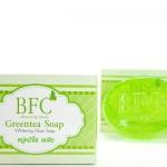 BFC Greentea Soap สบู่ชาเขียว หน้าใส ลดสิว