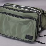 DEGNER SHOULDER BRIEFCASE Khaki (NB-16 KK)