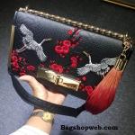ALDO Bergantino Cross Body Handbag สีดำ