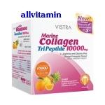 Vistra Marine Collagen TriPeptide 10000 mg. Orange Pineapple Flavour