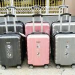 กระเป๋าเดินทางล้อลาก The Traveler SAINT SW *ระบบซิป 2 ชั้น ราคาเริ่มต้น 2,390 บาท (Ems+90)