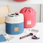 กระเป๋าเครื่องสำอางขนาดใหญ่ มาพร้อมกระเป๋าแยกขนาดเล็ก และถุง PVC ใส่แปรงแต่งหน้า (Travel Dresser Pouch)