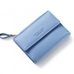 กระเป๋าสตางค์ใบสั้น FOREVER YOUNG COVER สีฟ้า