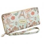 กระเป๋าสตางค์ใส่โทรศัพท์ ใบยาว Bonjour Paris