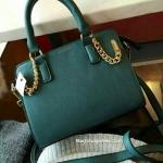 กระเป๋า Topshop ใบสีเขียวเข้ม ทรงสวย หนัง PU คุณภาพดี ออกแบบได้ มีสไตล์สุดเก๋ อินเทรนด์