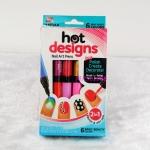 ปากกาทาสีเล็บ hot designs <พร้อมส่ง>