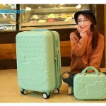 กระเป๋าเดินทางล้อลาก Kitty 3 ขนาด Mint