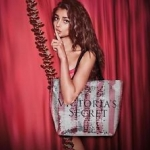 กระเป๋า Victoria's Secret Bling Sequin Large Weekender Tote Bag ราคา 1,290 บาท Free Ems