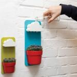 ชุดกระถางปลูกต้นไม้และก้อนเมฆรดน้ำอัตโนมัติ Rainy Pot < พร้อมส่ง >