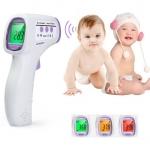 เครื่องวัดอุณหภูมิและวัดไข้เด็ก ดิจิตอล จอเปลี่ยนสีตามอุณหภูมิไข้