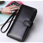 กระเป๋าสตางค์ใบยาว KQueenstar Lady สีดำ(ใหม่)