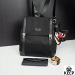 กระเป๋าเป้ KEEP NaNo Nylon Backpack Black ราคา 1,690 บาท Free Ems