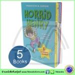 Francesca Simon : Horrid Henry : 5 Brilliant Books Boxset เซตหนังสือ 5 เล่ม ฮอริด เฮนรี่