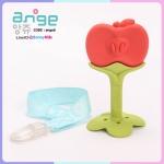ยางกัดอังจู แอปเปิ้ล - Apple Teether พร้อมคลิปติดกันหล่น