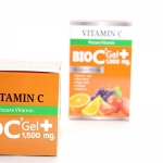 วิตามินซี BIO C Gel Plus VITAMIN BIO C Gel Plus 1500 mg.
