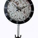 นาฬิกาแขวนผนังฟันเฟือง ลูกต้มแมงมุม < พร้อมส่ง >
