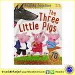 Three Little Pigs - Fairy Tales Phonics - Reading Together + 70 Stickers - Miles Kelly ลูกหมูสามตัว นิทานพร้อมสติกเกอร์
