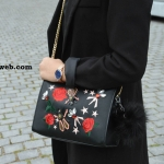 HOT PROMOTION - ZARA EMBROIDERED LEATHER CLUTCH