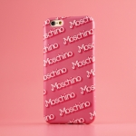 "MOSCHINO BARBIE SERIES IPHONE6 PLUS CASE หน้ากากไอโฟน6พลัส เคสไอโฟน6พลัส Moshino สีชมพู 5.5"" พร้อมส่ง"