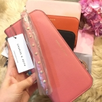กระเป๋า CHARLESKEITH LONG ZIP WALLET สีนู๊ด ราคา 1,090 บาท Free Ems