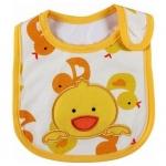ผ้ากันเปื้อน Carter's ลายลูกเจี๊ยบสีเหลือง