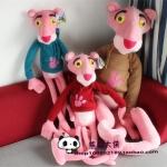 ตุ๊กตาพิงค์แพนเตอร์สวมเสื้อฮู้ด Pink Panther 160 cm