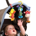 ตุ๊กตาโมบายกระดิ่ง Happy Monkey เซต 3 ตัว