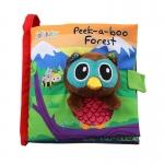 หนังสือผ้า Peek-a-boo Forest by JollyBaby