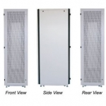 "FR-6645 FR 19"" PERFORATION EXPORT SERVER RACK 45U (60x60 cm.) สูง 218 cm."